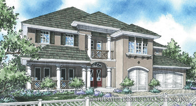 Gullane-Front Elevation-Plan #8031