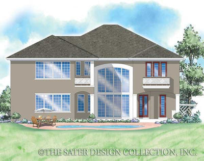 Gullane-Rear Elevation-Plan #8031
