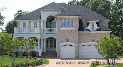 Stonehaven-Front Elevation-Plan #8032
