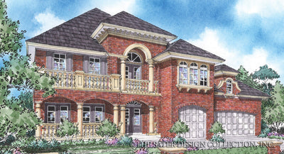 Stonehaven-Front Elevation-Plan 8032