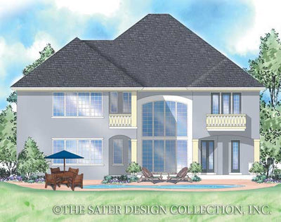 Stonehaven-Rear Elevation-Plan #8032