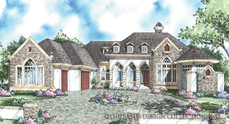 Maitena-Front Elevation Render-Plan #8036