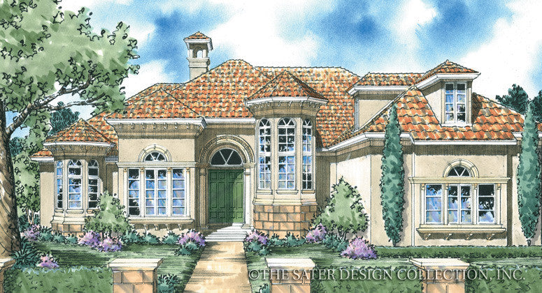 Raphaello Home Render Image Front Elevation-Plan #8037