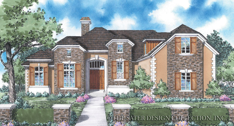 Chadwick-Front Elevation Rendering-Plan#8038