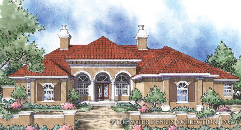 Bellini-Front Elevation Rendering-Plan #8042