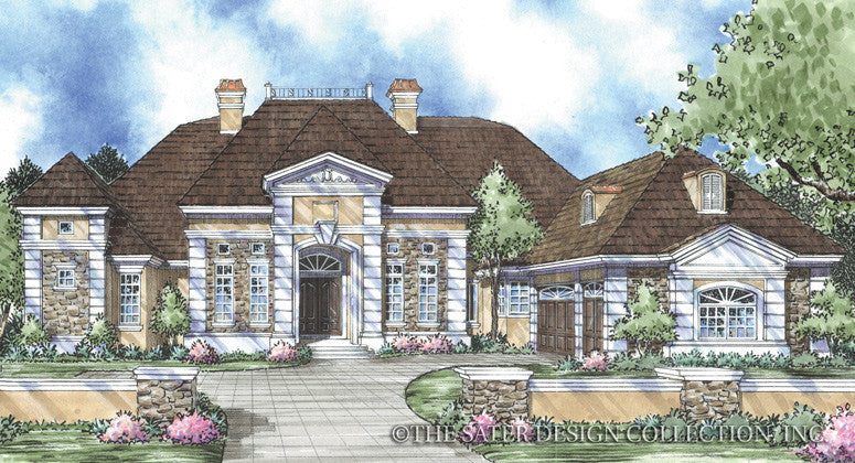 Beauchamp-Front Elevation Rendering-Plan#8044