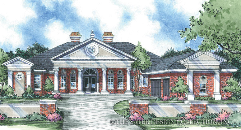 Demetri-Front Elevation-Plan #8045