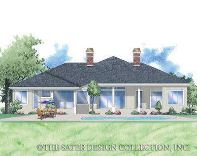 Demetri-Rear Elevation-Plan #8045