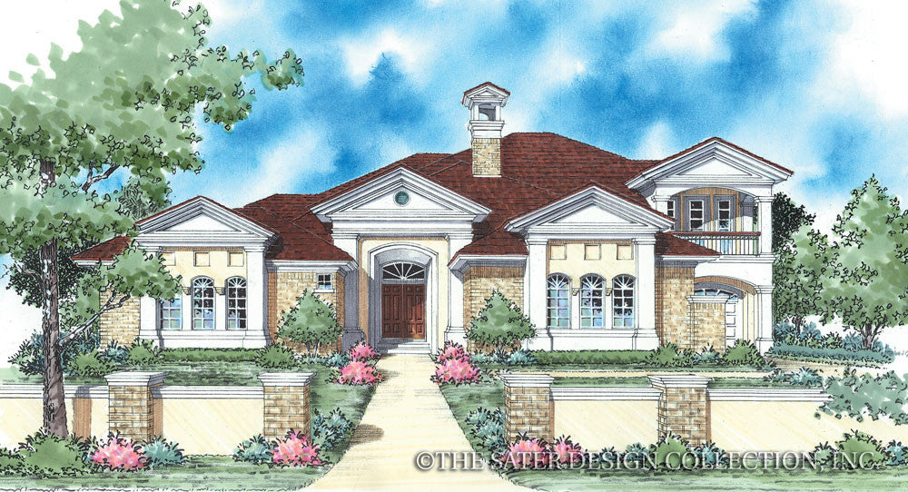 Garnett-Front Elevation-Plan #8047