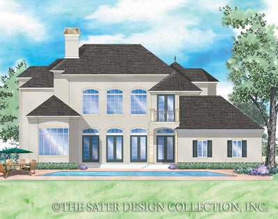 Solaine-Rear Elevation Rendering-Plan #8051