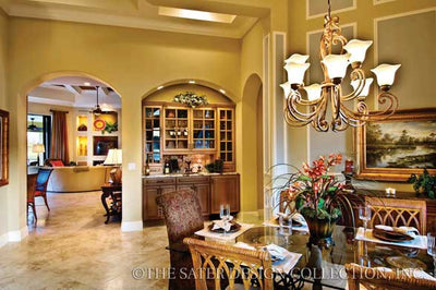 Caprina-Dining Room Foyer-Plan #8052