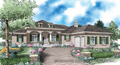 Christabel-Front Elevation-Plan #8053