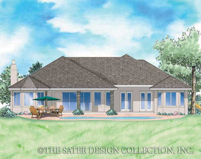 Christabel-Rear Elevation-Plan- #8053