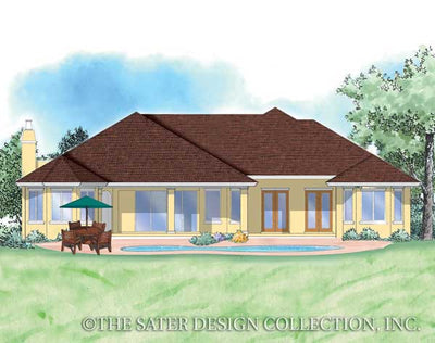 Ainsley-Rear Elevation-Plan #8054