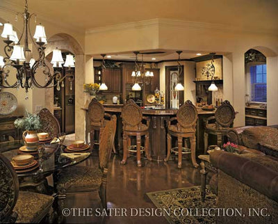 San Filippo-Dining-Kitchen-Plan #8055