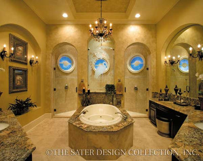 San Filippo-Master Bath- Plan #8055