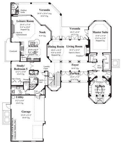 San Filippo-Main Level Floor Plan-#8055