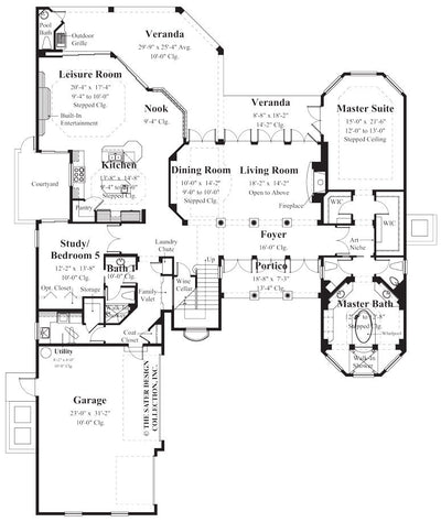 Argentellas-Main Level Floor Plan-#8056