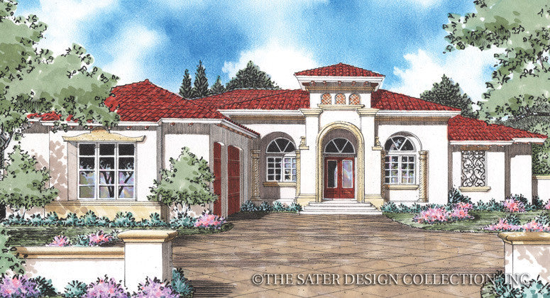 Porta Rosa-Front Elevation Render Image-Plan #8058