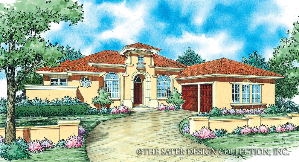 Martelli-Front Elevation-Plan #8061