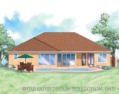 Martelli-Rear Elevation-Plan #8061