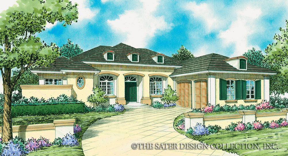 Fontana-Front Elevation-Plan #8062