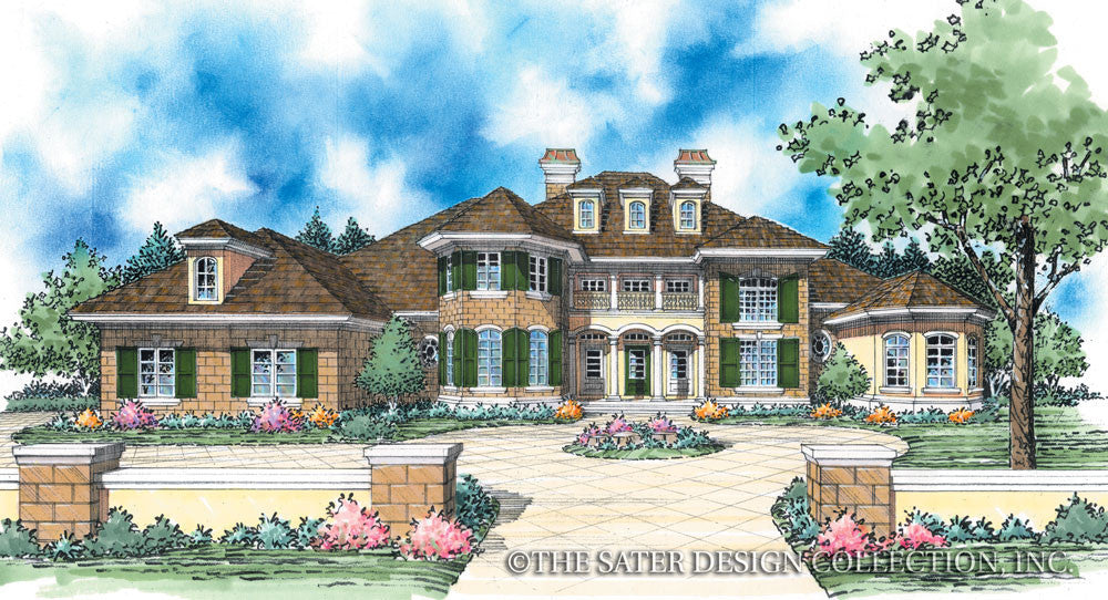 Bartlett-Front Elevation-Plan #8064