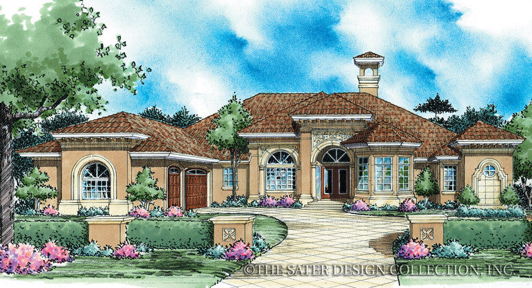 House Plan Teodora Sater Design Collection