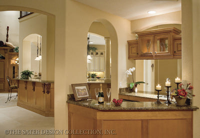 Leighton-Wet Bar-Plan #8070
