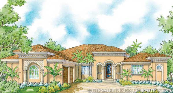 Mezzina-Front Elevation-Plan #8073