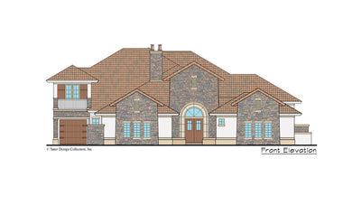 Monte Rosa home design front elevation