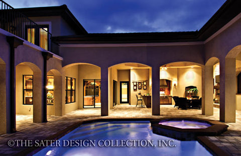 Home plan bergantino sater design collection for Robinsons homes design collection