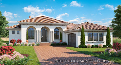 Verago home design front elevation rendering