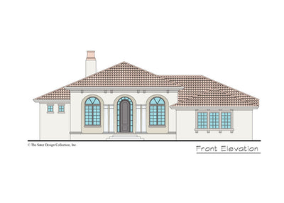 Verago home design front elevation