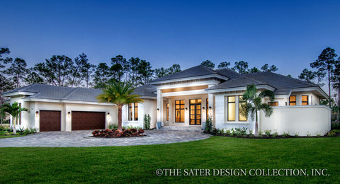 The Benton House Plan Sater Design Collection Home Plans