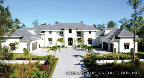 caribbean home designs. Winward Court Home Plan West Indies  Caribbean Styled Plans Sater Design Collection