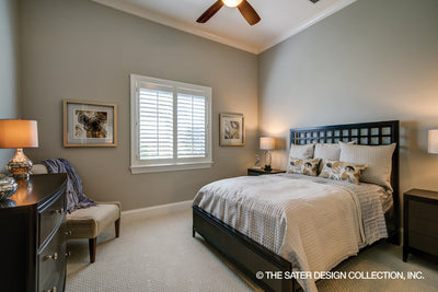 Anvard Luxury Villa House Plan guest bedroom