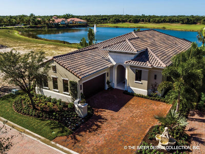 Anvard Luxury Villa House Plan drone photo