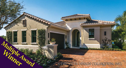 Tuscan House Home Plans Sater Design Collection