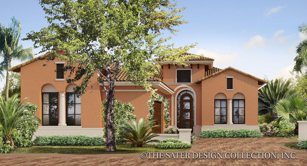 Mediterranean & Tuscan House Plans | Sater Design Collection on australian ranch house designs, contemporary ranch house designs, california ranch house designs, filipino ranch house designs, one story ranch house designs, southwestern ranch house designs, rustic ranch house designs, craftsman ranch house designs, mediterranean mansion designs,