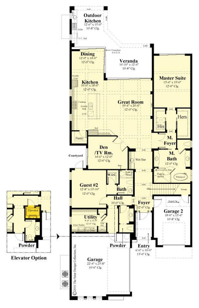 St. Andrews first floor plan