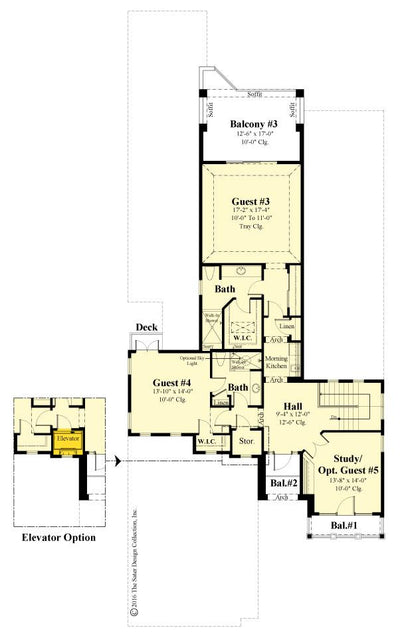 St. Andrews second floor plan