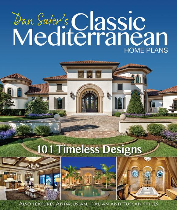 Classic mediterranean home plans dan sater sater for Classic home villa home collection