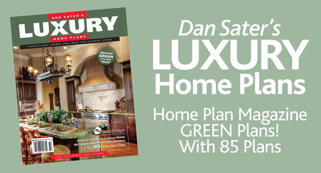 Luxury Home Plans Magazine #6