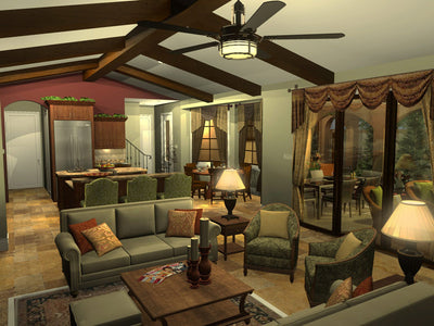 Melito-Living Room-Plan #6555