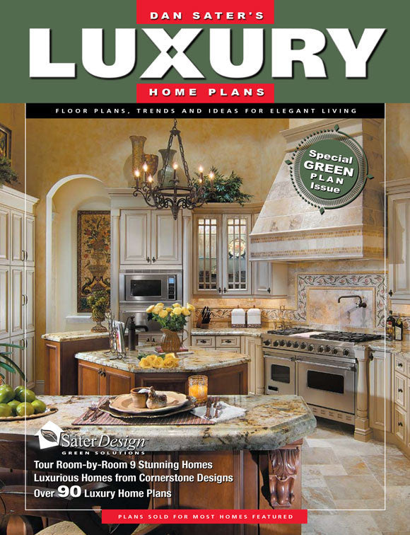 Luxury home plans 6 sater design collection for Luxury home design magazine