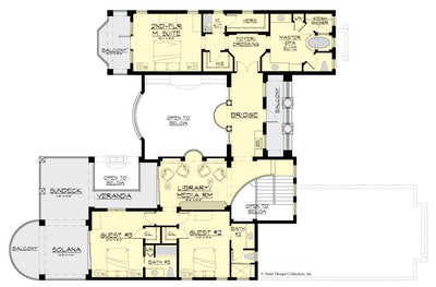 Pulau House Plan second floor plan