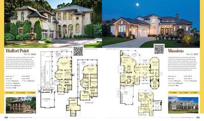 Dan Sater's Classic Mediterranean Home Plans single plan pages