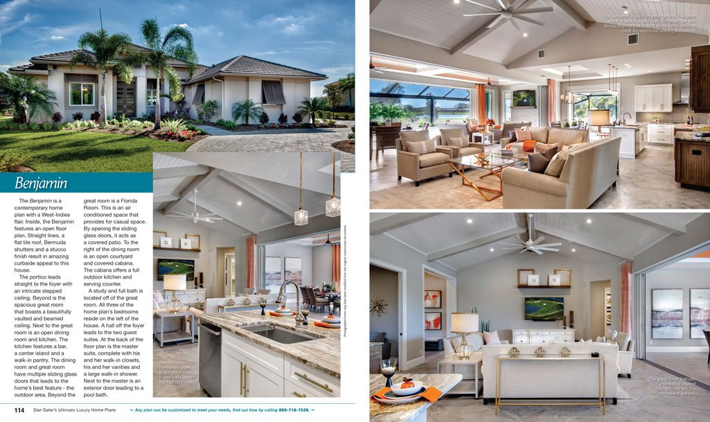 Ultimate Luxury Home Plans Collection Book | Sater Design ...