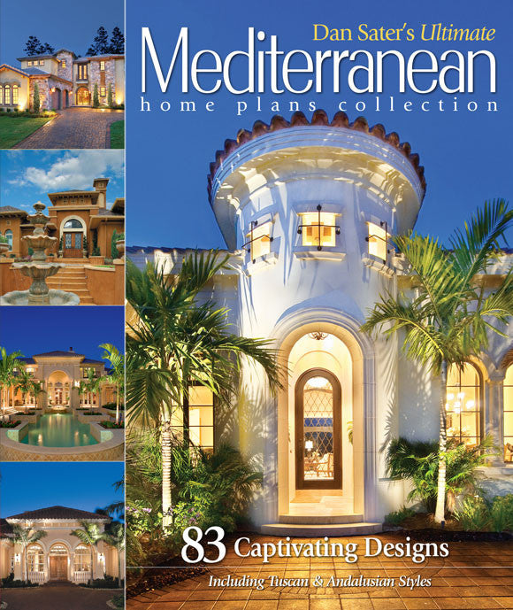 Dan Sater's Ultimate Mediterranean Home Book, Front Cover